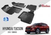 Hyundai Tucson 2015 Sonrası Havuzlu Paspas Rizline