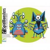Spid Monsters Dikkat, Organize Olma Ve Hız Oyunu