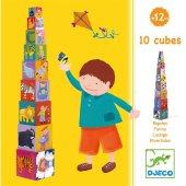 10 Cubes Funny Blocks Eğlenceli Küpler