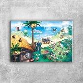 Pokemon 6 Canvas Tablo Arttablo