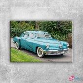 Otomobiller Tucker 1 Model Amerikan Arabalar Kanva...