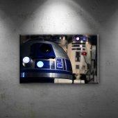 Star Wars R2d2 Dekoratif Kanvas Tablo