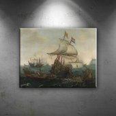 Vroom Hendrick Cornelisz Yağlı Boya Sanat Dekorati...