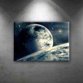 Evren Dünya & Uzay Kanvas Tablo