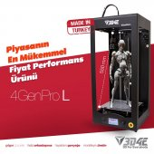 4genpro Long (3d Printer 3b Yazıcı)