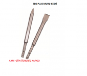 Sds Plus Sivri Kırıcı Murç 250 Mm Sds Plus Keski Yassı 250 Mm