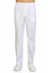 Tipmod Doktor Hemşire Pantolonu Erkek 140 B Tek Alt Beyaz Pantolo
