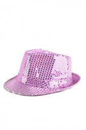 Lila Payet Pullu Şapka