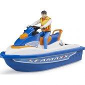 Bruder Jet Ski Ve Sürücüsü Br63150