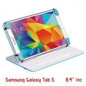 Mtmcar Samsung Galaxy Tab Tablet Kılıfı Turkuaz 4,7 İnc