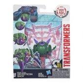 B0763 B4655 Transformers Mini Con Figür Decepticon