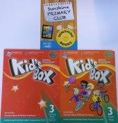 Cambridge Kids Box 3 Pupils Book + Activity Book + Online Code