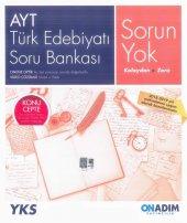 Ayt Türk Edebiyatı Soru Bankası (Onadım Yayınları)