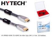 Hytech Hy Pp805 Hdmı To Hdmı 3m Altın Uçlu 24k 1.4 Ver. 3d Kablos