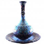Oğuz Çini 30cm Dantel Vazo