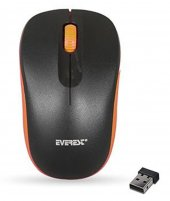 Everest Sm 165 Siyah Turuncu 2.4ghz Kablosuz Mouse