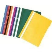 Kraf Telli Dosya 50li Paket (1000) Yeşil