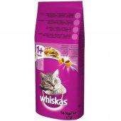 Whiskas Biftekli Havuçlu Kuru Kedi Maması 14 Kg