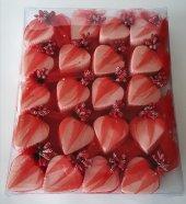Kırmızı Kalp Sabun (20 Adet)