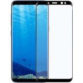 Samsung Galaxy S8 3d Kavisli Full Tam Cam Ekran Koruyucu
