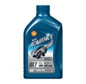 Shell Advance 4t Ax7 15w50 T.sentetik Motorsiklet Yağı