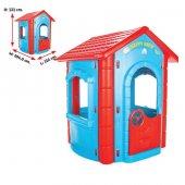 Pilsan Happy House Çocuk Oyuncak Ev Park Bahçe Eğitici Aktivite O
