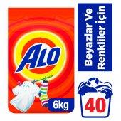 Alo Matik 6 Kg 40 Yıkama Beyazlar Ve Renkliler İçin Toz Çamaşır Deterjanı
