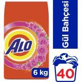 Alo Toz Çamaşır Deterjanı Beyazlar Ve Renkliler İçin Gül Bahçesi 6 Kg