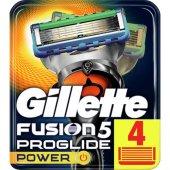 Gillette Fusion Proglide Power Yedek Tıraş Bıçağı 4lü