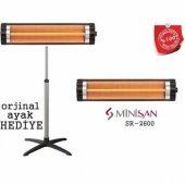 Elektrikli Isıtıcı Elektrikli Soba Minisan Sr 2600 Ayaklı Isıtıcı