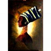 Afrikalı Kadın Tabloları, Portre Afrikalı Tablo