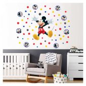 Mickey Mouse 111x95 Cm Duvar Sticker