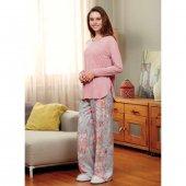 Eros 22552 Kadın Pembe Pijama Takımı