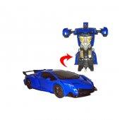 Oyuncak Robot Kumandalı Araba Dönüşen Robot Araba Bbj