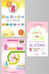 8. Sınıf Tüm Dersler Soru Konu Anlatımlı Ve 12li Deneme Seti Palme Kitabevi