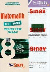 Sınav Yayınları 8. Sınıf Matematik Çek Kopart Yaprak Test