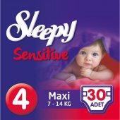 Sleepy Sensitive Bebek Bezi 4 Beden Maxi (30 Adet)