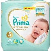 Prima Premium Care 5 Numara 26 Adet Bebek Bezi