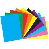 A4 10lu Karışık Renk Fon Kartonu 2paket