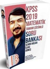 Benim Hocam Yayınları 2019 Kpss Matematik Tamamı Çözümlü Soru Bankası