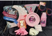 20 Kişilik Pembe 2 Yaş Kız Doğum Günü Parti Malzemeleri Seti Süsl