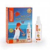 Dermoskin Çocuklar İçin Güneş Korucuyu Sprey Spf 50 Sapka Hediyeli Paket