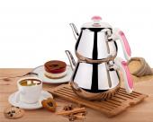 özkent Kristal Mini Çaydanlık