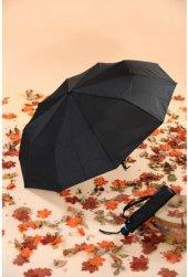 Kısa 10 Telli Erkek Şemsiye Başka Yerde Yok Siyah ...