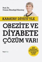Karatay Diyeti&#039 Yle Obezite Ve Diyabete Çözüm Var Canan Efendigil Karatay Hayy Kitap