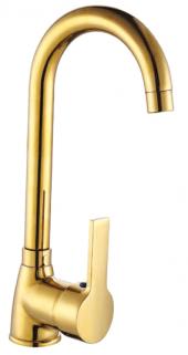 Acar Gold Eviye Lavabo Bataryası