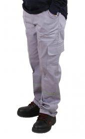 Iş Pantolonu Reflektörlü Gri 7 7