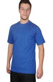 Sıfır Yaka İşçi T Shirt
