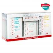 New Essentials Gece Gündüz Yoğun Bakım Ve Göz Çevresi Kremi 3lü Avantaj Paket