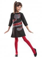 Denokids Sırnaşık Kız Çocuk Elbise